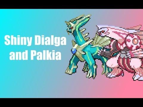 Shiny Dialga and Palkia Giveaway - Pokemon Black and White 2