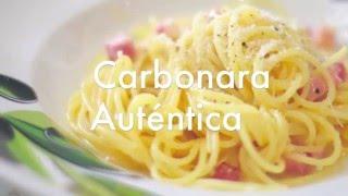 Carbonara Auténtica Italiana - Recetas de Salsas para Pasta