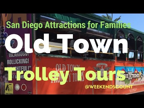 The San Diego Old Town Trolley Tour is a MUST Do Activity for Your Family!