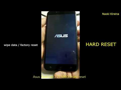 Asus ZenFone 2 ZE500CL Hard reset