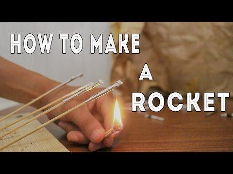 How to Make a Rocket Home Made