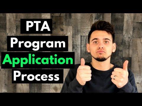 PTA Program Application Process