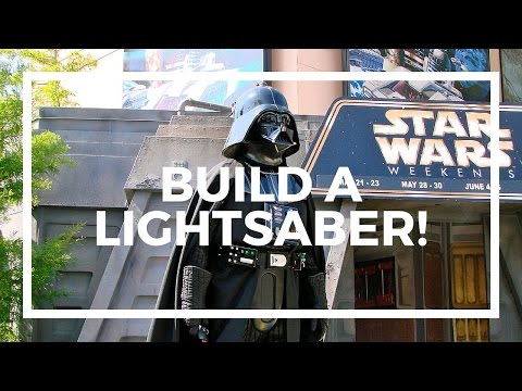 HOW TO BUILD YOUR OWN LIGHTSABER AT DISNEY HOLLYWOOD STUDIOS