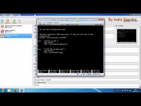 Tuturial 3 - Step by Step Configuration BIND9 (Set Up DNS Server) On Ubuntu 14.04 Linux Server
