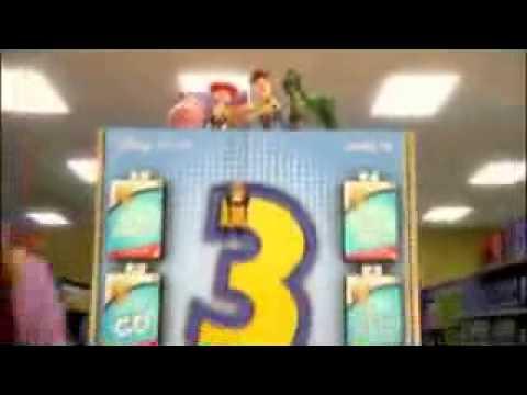 Toy Story 3 Visa Debit Card Commercial Cute!