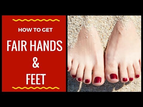 How to Get Fairer Hands and Feet At home | Remove Suntan Roughness Dark Spots  with Home Remedies