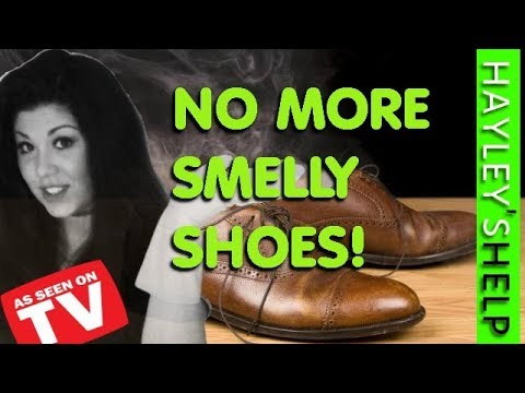 How to get RID of SMELLY Shoes & Remove Foot Odours - Hayley from Obsessive Compulsive Cleaners