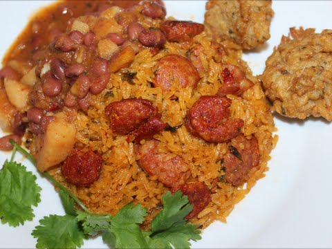 Rice - How to Make Rice with Chorizo and Longaniza Sausages Recipe [Episode 036]