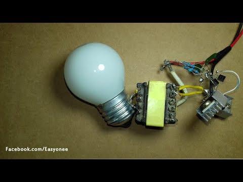 How to make inverter 12V to 220V-240V  (part2)