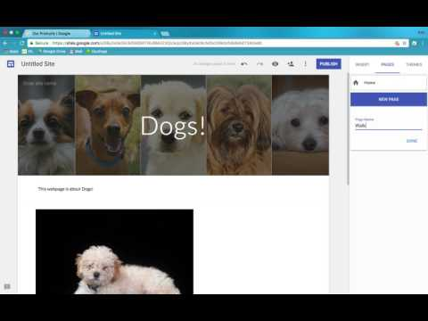 How to make a website with the New Google Sites