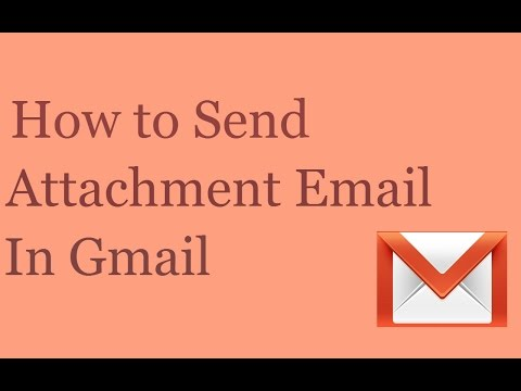 How to Send Attachment Email In Gmail