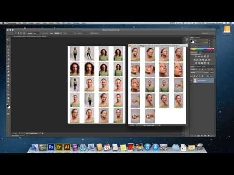 How to make a contact sheet in Adobe Photoshop CS6