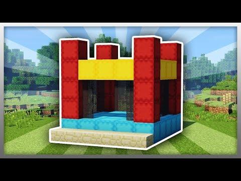 ✔️ Working BOUNCY CASTLE in Minecraft!