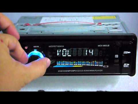 Gearflag test on G9660 car dvd cd player
