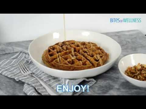 Sweet Potato Waffles (Paleo, Whole30)
