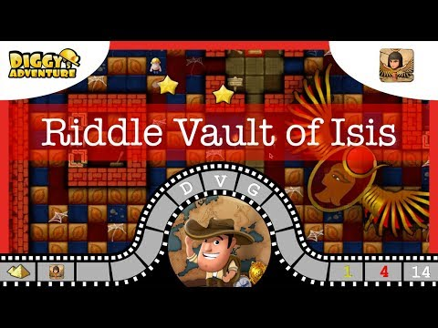 [~Isis~]# Riddle Vault of Isis -Diggy's Adventure