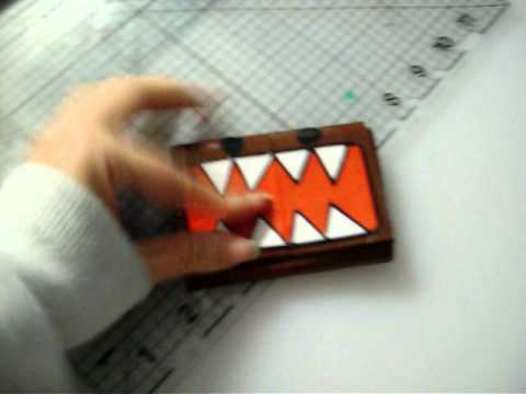 2 awesome domo duct tape wallets!!