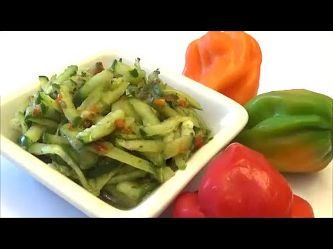 Cucumber Chutney for Doubles  - Episode 43