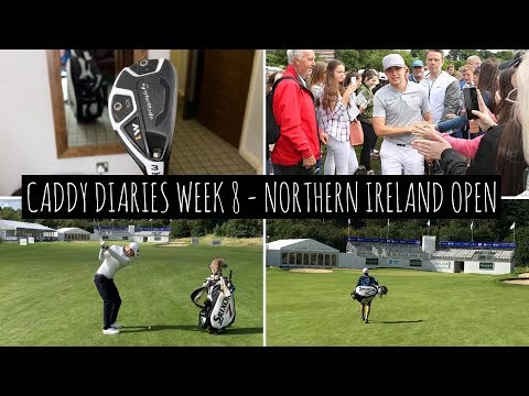Niall Horan at the Northen Ireland Open and Taylormade M1 Hybrid!!