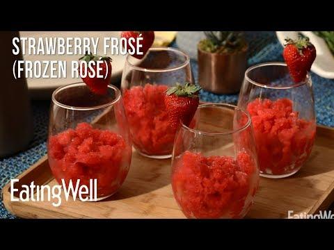 Strawberry Frosé (Frozen Rosé) | EatingWell