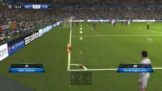 PES 2014: [Real Madrid - Barcelona] 2º Gameplay (Final Version)