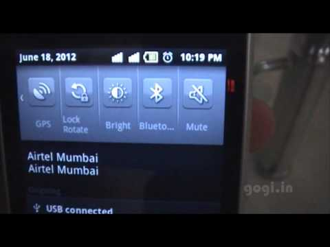 How to connect android phone with a PC and enable USB storage