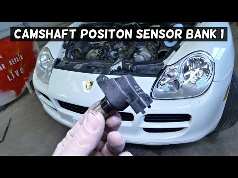 HOW TO REMOVE AND REPLACE CAMSHAFT POSITION SENSOR BANK 1 PORSCHE CAYENNE