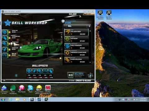 How to hack need for speed world  money using ftw skillmoney  tutorial - watch in HD