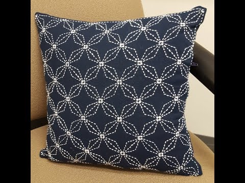 Sashiko Embroidery // Quilt Design Tutorial-28- For Very Beginners