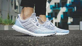 Parley x Adidas ultra Boost climatizacion en pies, jxn2w videostube