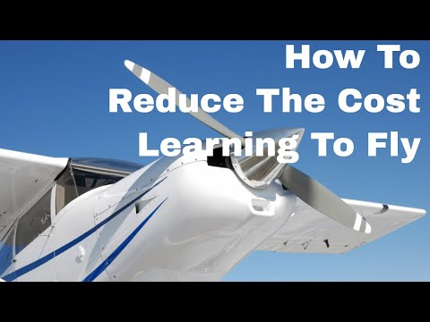 Private Pilot Licence   How To Reduce The Cost Of Learning To Fly & Getting A Private Pilots Licence