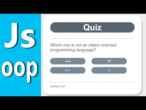[Angular Tutorial] Develop a Quiz App with Javascript - Object Oriented Programming