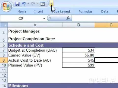 How to show or hide the Office ribbon in Excel