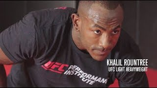 UFC Performance Institute - The Importance of Recovery