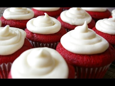 How to Make Red Velvet Cupcakes w/Cream Cheese Frosting - CookwithApril