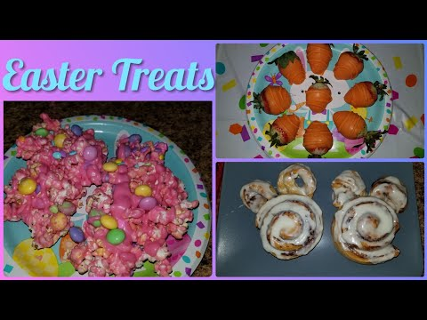 3 Fun & Easy Easter Treats