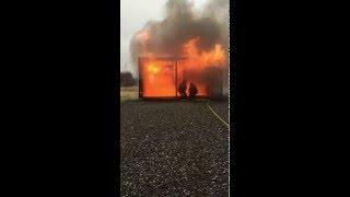 Strålförarteknik/brandgaskylning Räddningsinsats 1604 Revinge