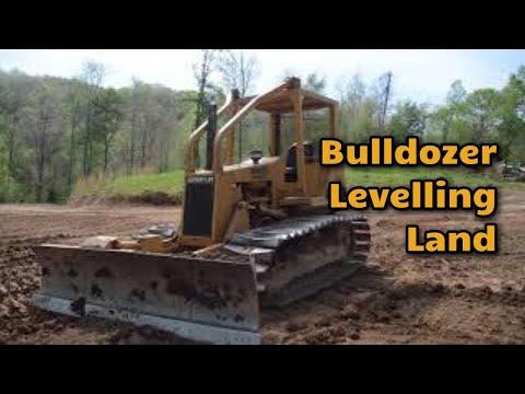 Bulldozer at Land