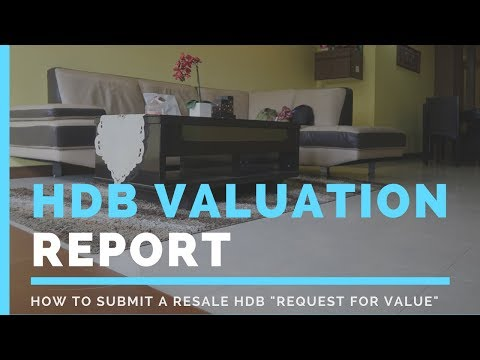 How to request for an HDB Resale Valuation Report or Request for Value?
