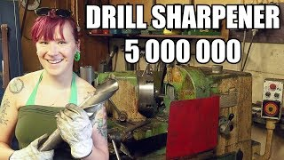 Automatic Old School HSS Drill Sharpening Machine