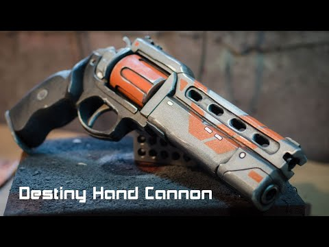 Prop: Shop - Destiny Hand Cannon Foam Prop