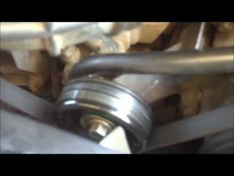 Ranger Idler Pulley Replacement