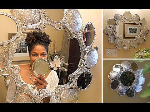 DIY | Dollar Tree Princess Wall Mirrors
