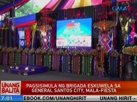 UB: Pagsisimula ng Brigada Eskuwela sa GenSan, mala-fiesta
