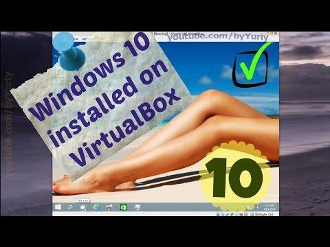 How to install Windows 10 on Oracle VirtualBox (RAM usage)