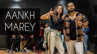 AANKH MAREY | SIMMBA | Tejas Dhoke Choreography | Dancefit Live