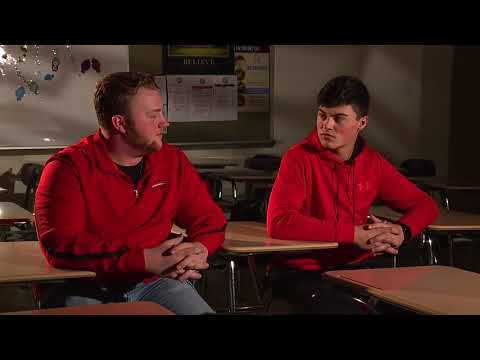 Chardon High School students describe how students react to loud noises