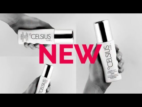 Celsius Hair Heat Protect and Shine Spray NEW Heat Protection Spray