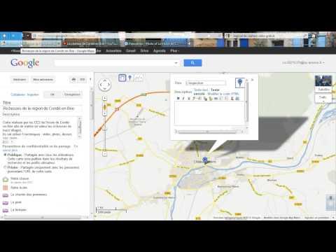 Comment insérer une image dans Google maps ?