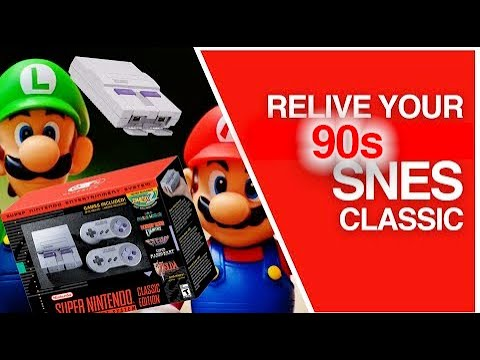 SNES Classic Edition Unboxing, Comparison, Features Hands on & Gameplay